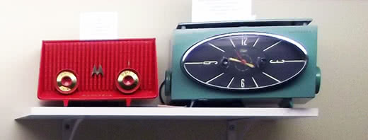 Motorola - Clocks Display - Quincy IL