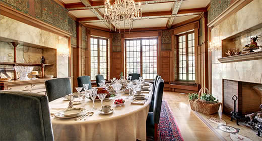 Dining Hall - Quincy Museum - Quincy, IL