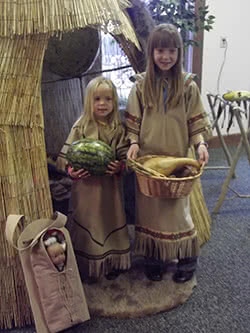 Native American Lesson - Quincy Museum - Quincy IL