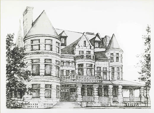 Sketch of The Quincy Museum